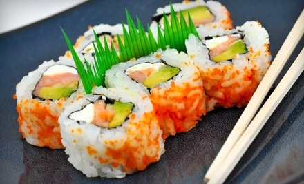 $24 Groupon to Orchid Japanese Restaurant - Orchid Japanese Restaurant in Raleigh