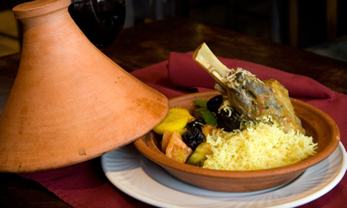 Nyala African Cuisine - Riley Park: $20 for $40 Worth of African Fare and Drinks at Nyala African Cuisine