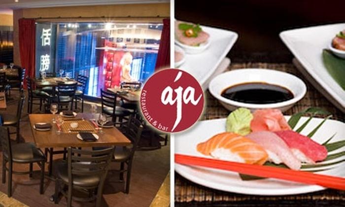 Aja - Lenox: $20 for $40 Worth of Modern Asian Cuisine and Drinks at Aja Restaurant & Bar in Buckhead