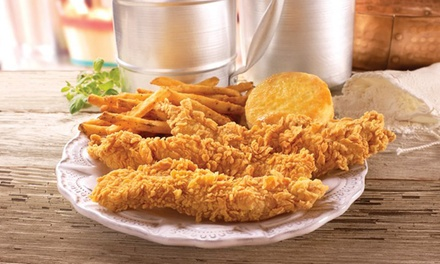 $5 for $10 Worth of Fried Chicken, Biscuits,, and Drinks at Popeye's