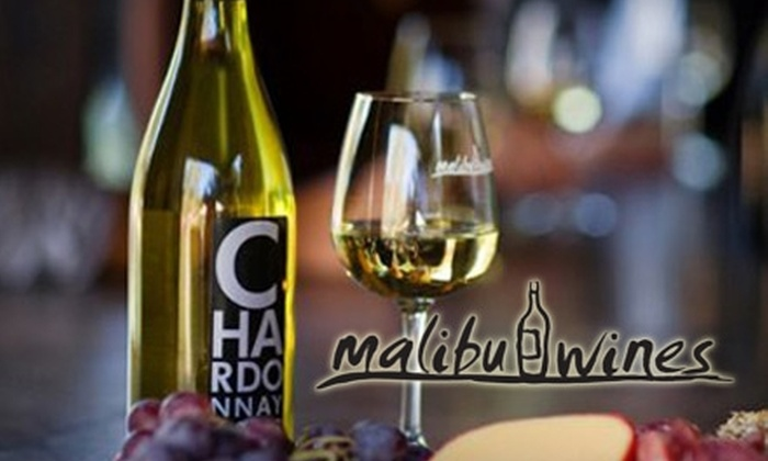 Malibu Wines - Agoura Hills-Malibu: $35 for a Wine Tasting for Two and One Take-Home Bottle of Wine and Wine Glasses at Malibu Wines