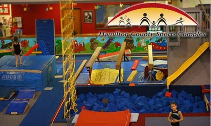 Hamilton County Sports Complex - Noblesville: $12 for Family Pass to Saturday Open Gym at Hamilton County Sports Complex in Noblesville