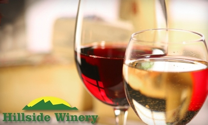 Hillside Winery - Sevierville: $8 for a Bottle of Wine and Complimentary Tasting and Tour at Hillside Winery (Up to $16 Value)