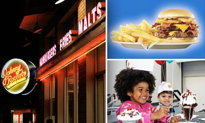 Johnny Rockets - Multiple Locations: $7 for $15 Worth of All-American Fare at Johnny Rockets