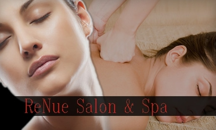 ReNue Salon & Spa - Moore: $25 for $60 Worth of Massage, Facials, and Other Services at ReNue Salon & Spa