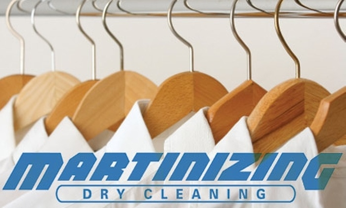 Martinizing Dry Cleaning - West Campus: $10 for $20 Worth of Dry Cleaning at Martinizing Dry Cleaning