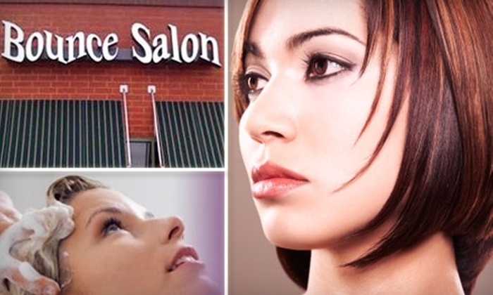 Bounce Salon - O'Fallon: $29 for a Haircut, Style, and Intensive Repair & Conditioning Treatment at Bounce Salon