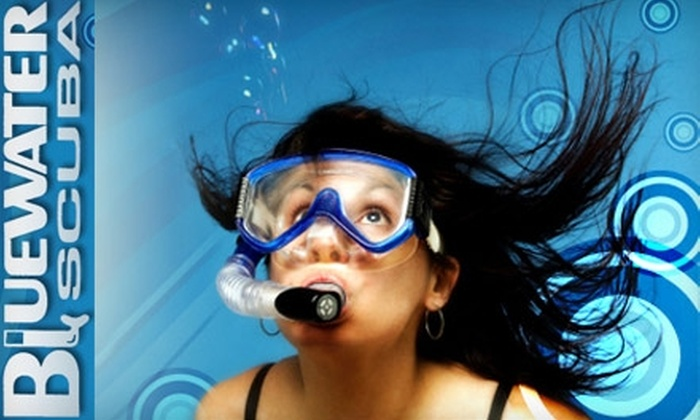 Blue Water Scuba - Franklin: $15 for a Two-Hour Discover Scuba Diving Class at Bluewater Scuba ($50 Value)