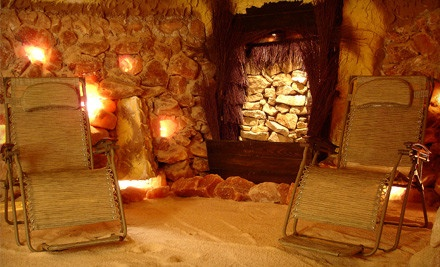 45-Minute Salt-Cave-Therapy Session for One Person - Williamsburg Salt Spa in Williamsburg