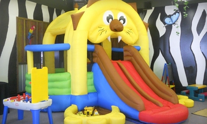 The Jungle Gym - Dallas: 10-Visit Punch Card or Party for Up to 15 Kids at The Jungle Gym