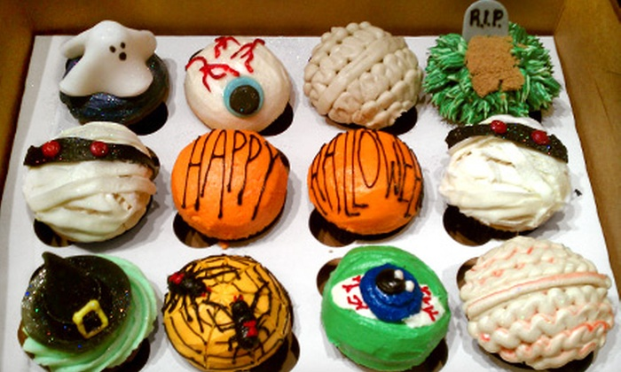 Kupcakz - Tulsa: One Dozen Cupcakes or Baker's Choice Holiday Dozen at Kupcakz (Half Off)