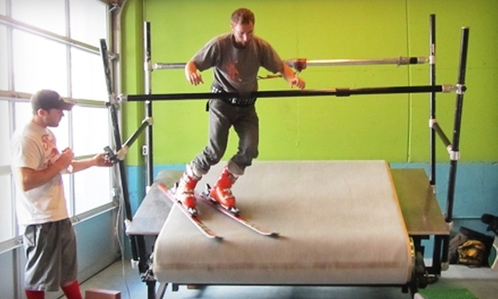 Adventurous Sports - Mission,Inner Mission,Mission District: Indoor Skiing or Snowboarding Lessons at Adventurous Sports. Three Options Available.