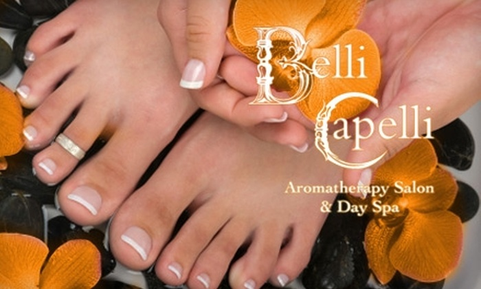 Belli Capelli Aromatherapy Salon and Spa - Lower Pacific Heights: $25 for $50 Worth of Nail Services at Belli Capelli Aromatherapy Salon & Day Spa