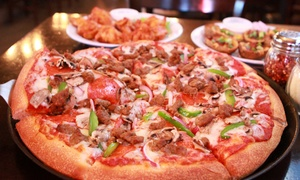 4th St. Pizza Co.: Pizzeria Fare at 4th Street St. Co. (Up to 46% Off). Three Options Available.