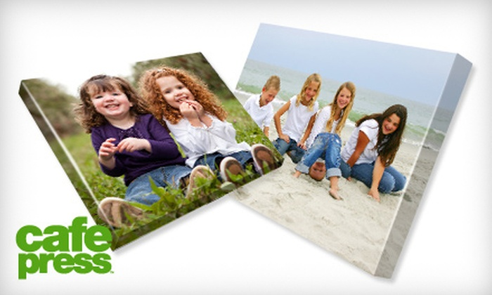 "CafePress: $39 for One 16""x20"" Gallery-Wrapped Canvas Including Shipping and Handling from CafePress"