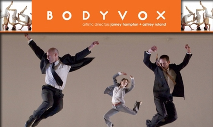 BodyVox - Northwest District: $15 for Two Dance Classes at BodyVox ($30 Value)