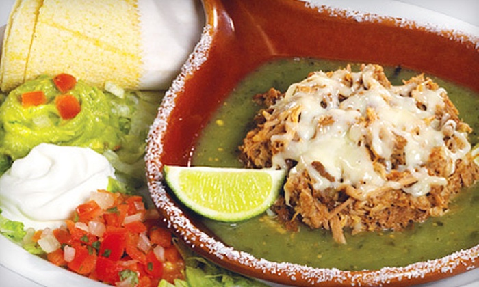 El Barrio Mexican Grill - Midtown: $8 for $16 Worth of Contemporary Mexican Fare and Drinks at El Barrio Mexican Grill