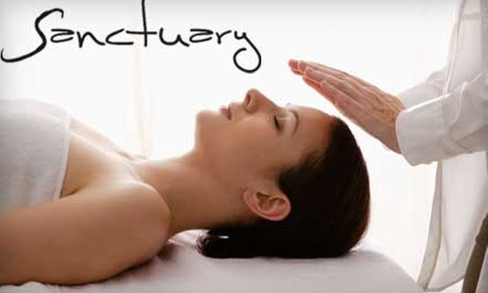 Sanctuary Hair Salon and & Day Spa - Wilson: $69 for a Customized Facial and 60-Minute Swedish Massage at Sanctuary Hair Salon and & Day Spa ($140 Value)