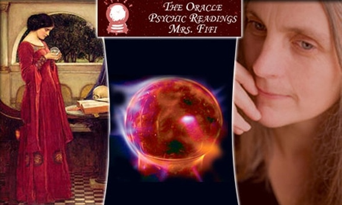Psychic Fifi - Northeast Coconut Grove: $19 for an ESP Psychic Reading by Mrs. Fifi ($60 Value)