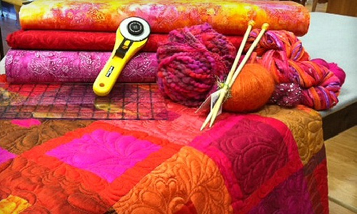 Once Upon A Quilt - Dania Beach: $20 for $40 Worth of Quilting Classes and Merchandise at Once Upon a Quilt