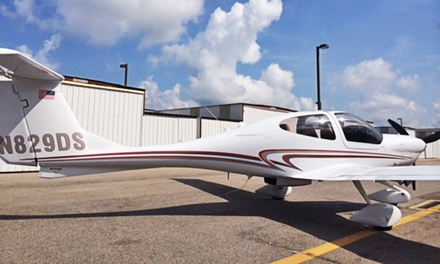 Discovery Flight or Flight-Training Starter Package from Blue Line Aviation LLC (Up to 46% Off)