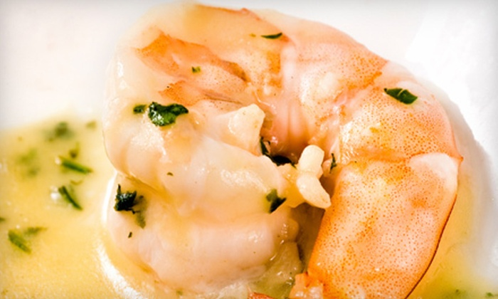 Hemingway's Bar & Grill - Rockport: $17 for $35 Worth of Upscale Seafood at Hemingway's Bar & Grill in Rockport