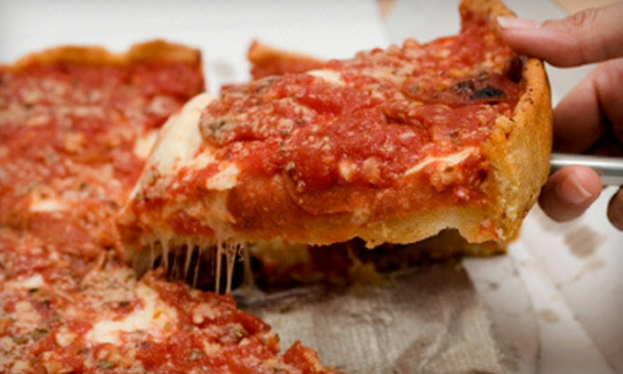 Victor's Chicago Pizza - Falcon Valley Commercial: Pizza Meal at Victor's Chicago Pizza in Lenexa (Up to 57% Off). Two Options Available.