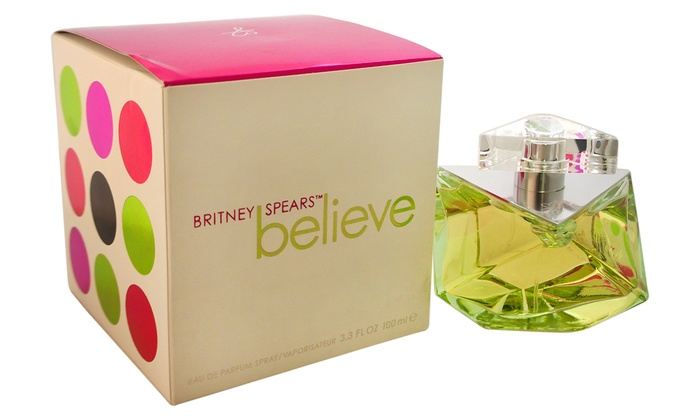 britney spears believe fragrance groupon goods