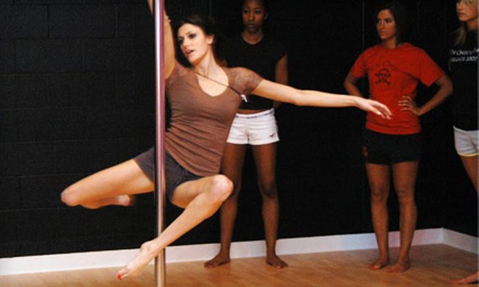 Pin-Up Pole Dancing - Downtown: Three-Week or Six-Week Pole-Dancing Class at Pin-Up Pole Dancing