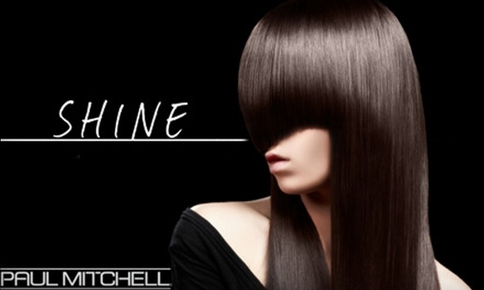 Shine: A Paul Mitchell Focus Salon - Liberty Highlands: $50 for a Cut and Highlights at Shine: A Paul Mitchell Focus Salon