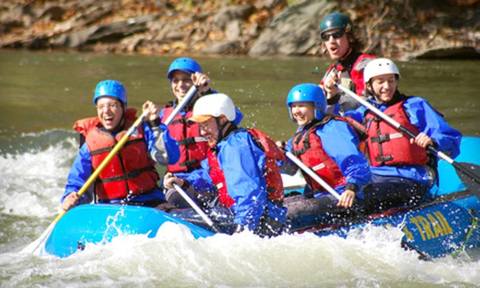 River & Trail Outfitters - Sandy Hook: Fall Colors Rafting & Biking Trip from River & Trail Outfitters in Knoxville. Sixteen Options Available.