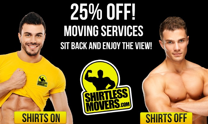 Shirtless Movers - Farmington: Three Hours of Moving Services from Shirtless Movers (25% Off)