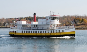 Casco Bay Lines: Bailey Island Day Cruise for Two or Four from Casco Bay Lines (Up to 45% Off)