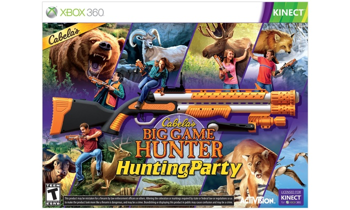 Hunting Games For Xbox 1 : Up to off on cabela s big game hunter groupon goods