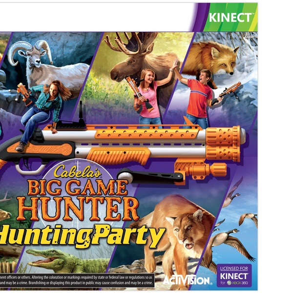 Cabela S Big Game Hunter Hunting Party For Xbox 360 Kinect Groupon