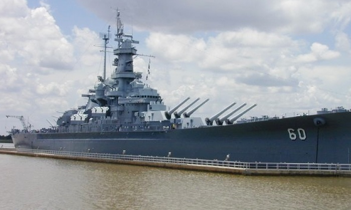 USS Alabama Battleship Memorial Park - Riverfront Industrial Area: Visit for Two Adults or Two Adults and Two Children to USS Alabama Battleship Memorial Park (Up to 52% Off)