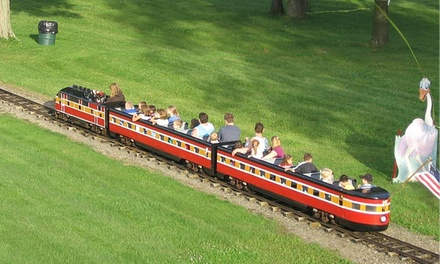 One-Day Ride-A-Rama or Splash-A-Rama Wristbands for Two at Midway State Park (50% Off)