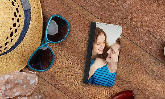 Picture It On Canvas: Custom Wallet Case for a Galaxy S5 or S6 or an iPhone 5/5c or 6/6+ from Picture It on Canvas (Up to 73% Off)