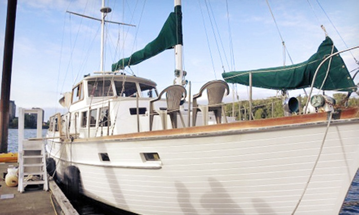 Scovare Expeditions Inc. - Willamette Park Launch Ramp Dock: Sailing Charters and Parties from Scovare Expeditions Inc. (Up to 51% Off). Four Options Available.