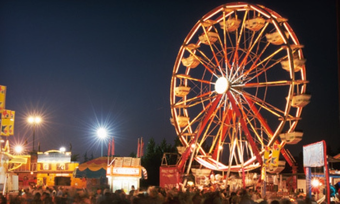 Placer County Fair - Kaseberg - Kingswood: Day at Placer County Fair at All American Speedway in Roseville (Up to 58% Off). Three Options Available.