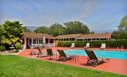 Option 1: One-Night Stay with Scavenger-Hunt Package Including Wine Tasting and Local Fare - Ojai Rancho Inn in Ojai