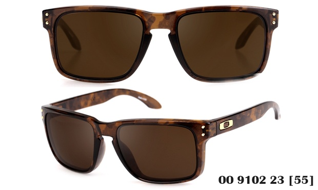 14ab77a418 Oakley Sunglasses Holbrook Brown Tortoise With Dark Bronze Oo9102 23 ...