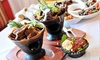 Lucy Ethiopian Restaurant and Lounge - Oak Forest - Garden Oaks: Ethiopian Cuisine at Lucy Ethiopian Restaurant and Lounge (50% Off). Two Options Available.