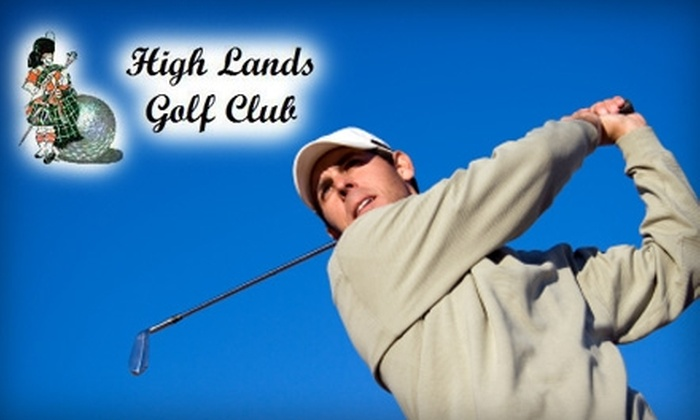 High Lands Golf Club - Pataskala: $26 for 18 Holes of Golf and a Cart at High Lands Golf Club ($51.80 Value)