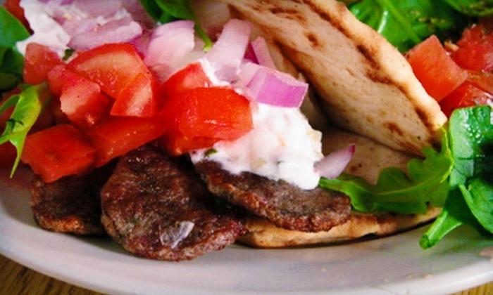 Papachino's - Modesto: $10 for $20 Worth of Mediterranean Fare at Papachino's