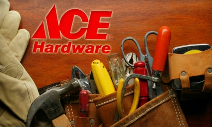 Ace Peninsula Hardware - Multiple Locations: $10 for $20 Worth of Home-Improvement Supplies at Ace Hardware
