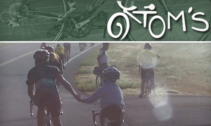 Tom's Bicycles - South Peoria: $10 for $30 Worth of Bike Rentals from Tom's Bicycles