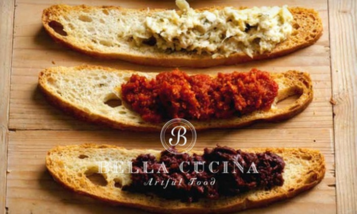 Bella Cucina Artful Food - Virginia Highland: Italian-Inspired Lunch for Two or Four or Artisan-Made Food and Gift at Bella Cucina Artful Food