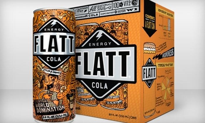 Flatt Energy Cola - Multiple Locations: $8 for Three Four-Packs of Flatt Energy Cola ($17.97 Value). Two Locations Available.