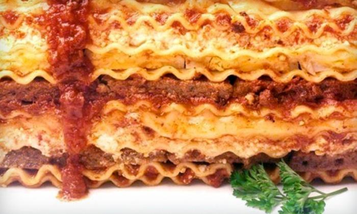 Roman Forum Restaurant - Detroit: Italian Dinner for Two or Four or Pizzeria Fare at Roman Forum Restaurant in Canton